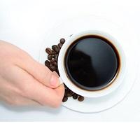 kaffe kopp nybryggt
